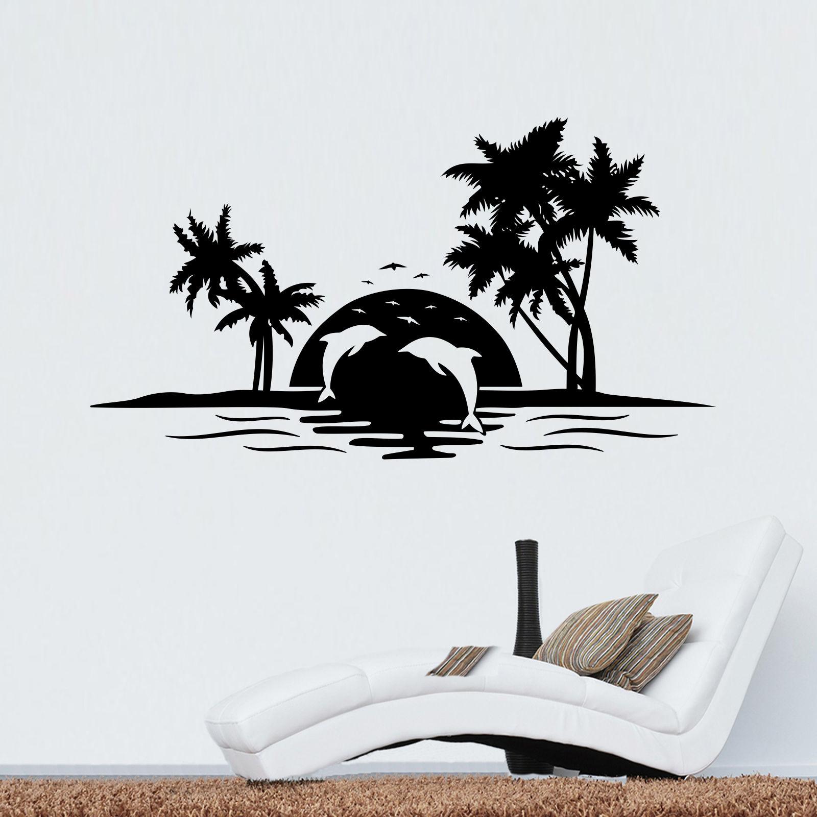 Gr/ö/ße 8 x 3,5 x 30 cm passend f/ür 8 schmale Ordnerr/ücken Wallario Ordnerr/ücken Sticker Urlaub am Palmenstrand unter Palmen mit Fischerboot in Premiumqualit/ät