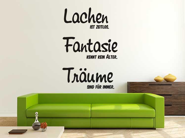 Lachen…, Fantasie…, Träume…