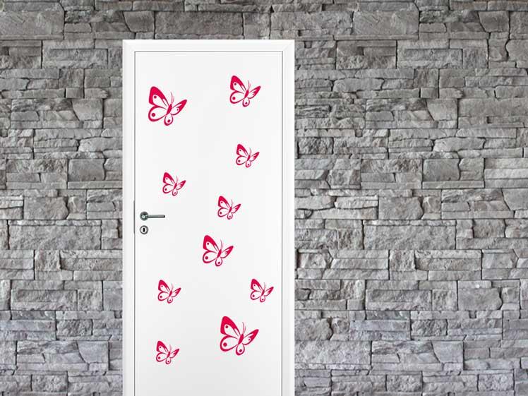 Schmetterlinge Set