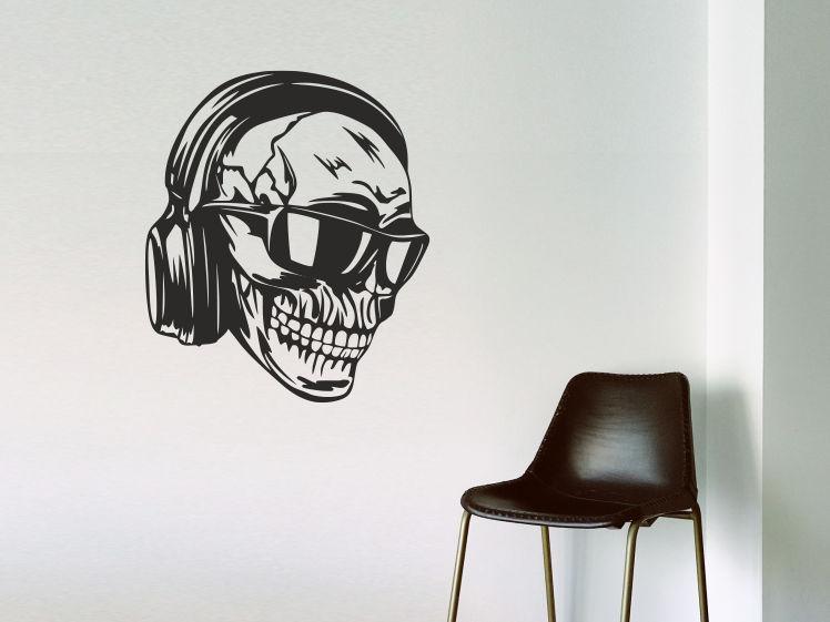 Totenkopf / Kopfhörer